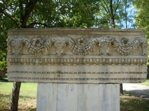 Фриз архитрав от храм Юнона