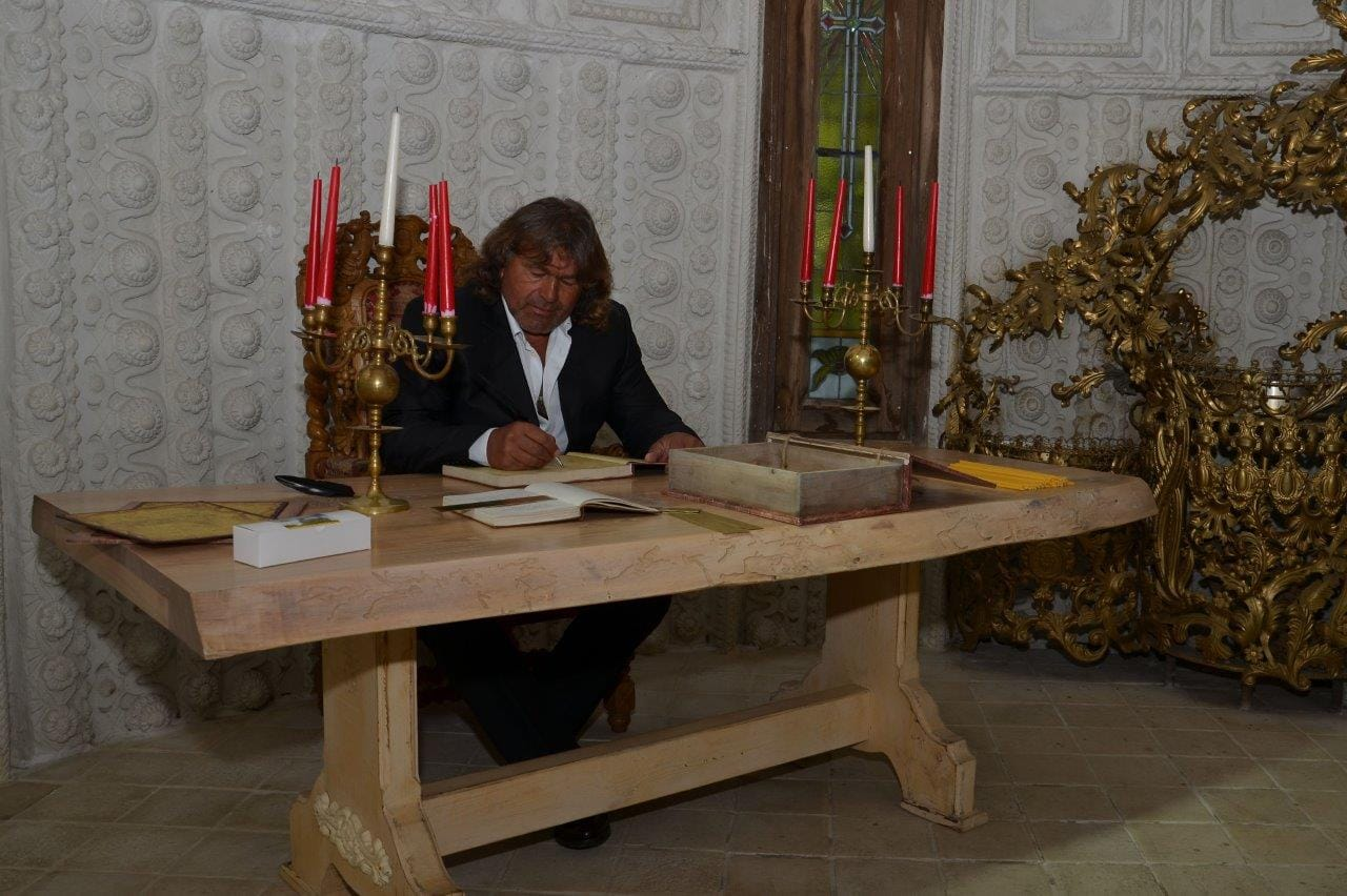 Собственикът на Замъка Георги Тумпалов