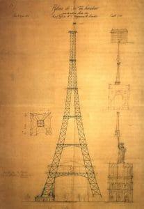 Оригиналната скица на Морис Кеклан