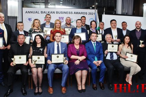 Лидерите в бизнеса на Балканите наградени със златни статуетки